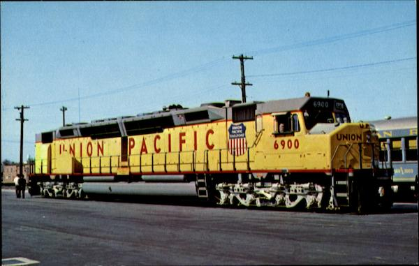 Union Pacific 6900 Trains, Railroad