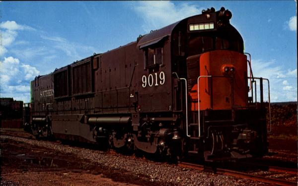 Southern Pacific 9019 Trains, Railroad