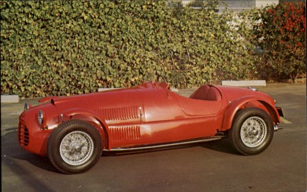 1948 Ferrari Model 166 Sports Racing Cars