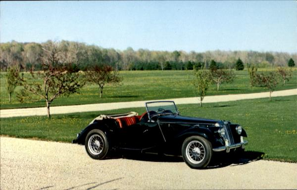 1954 MG Series TF Midget Cars
