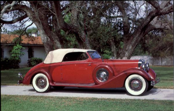 1935 Duesenberg Model J Convertible Coupe Cars