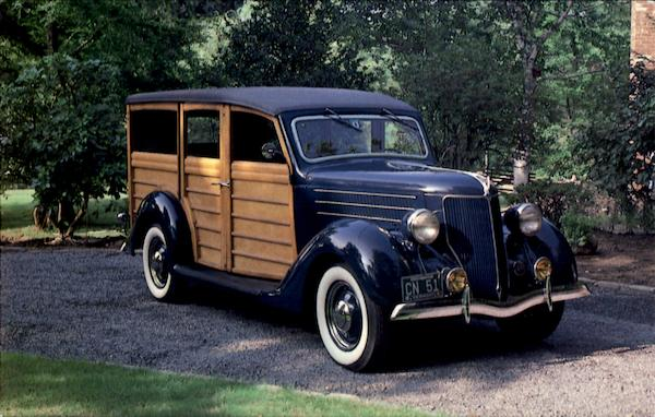 1936 Ford V-8 Station Wagon Cars