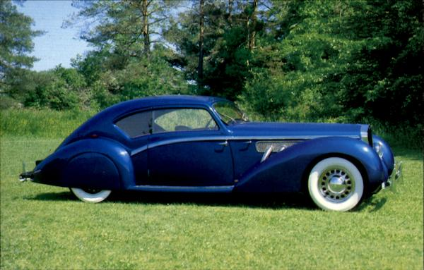 1937 Delage D8-120 Aero Coupe Cars