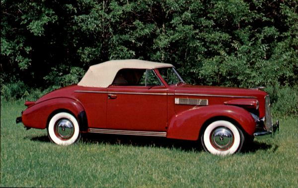 1939 Lasalle Model 39-50 Convertible Coupe Cars