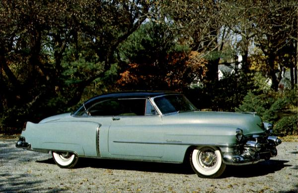1953 Cadillac Model 62 Coupe Cars