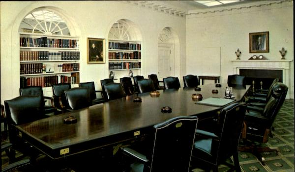 The White House Cabinet Room Washington District of Columbia