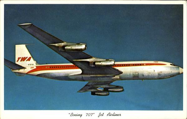 Boeing 707 Jet Airliner Aircraft