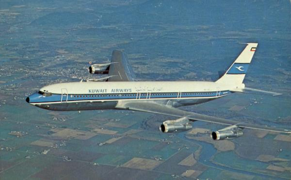 Kuwait Airways Corporation Boeing 707-320 Aircraft