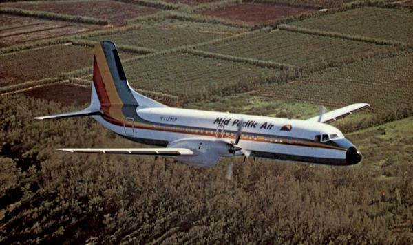 Mid Pacific Airlines YS-11 Aircraft