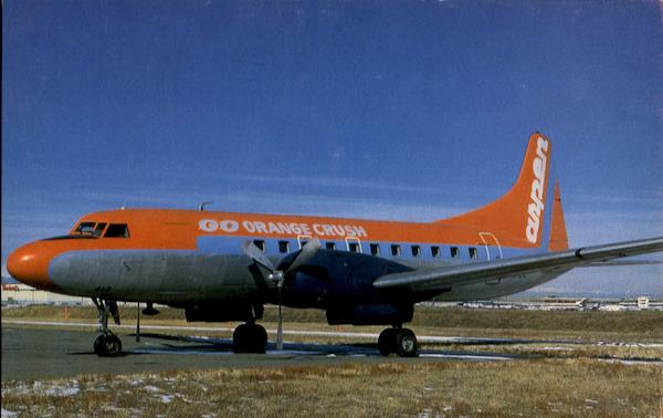 aspen airways convair cv
