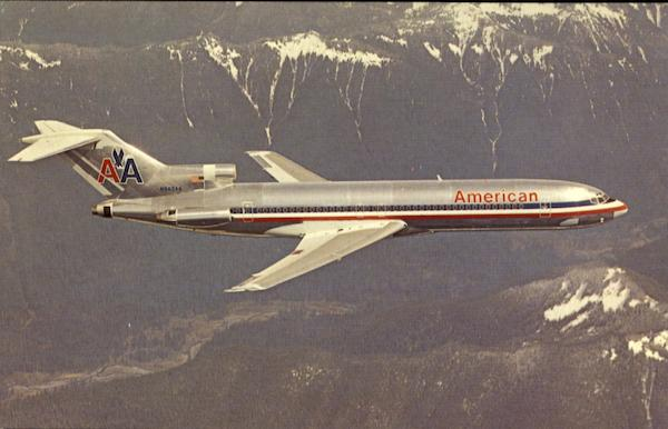 American Airlines Boeing 727-223 Aircraft