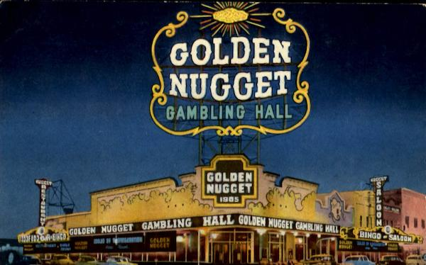 The Million Dollar Golden Nugget Gambling Hall Las Vegas Nevada