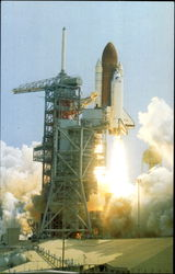 STS-4 Lifts Off Pad 39A