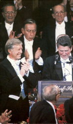 Governor Reagan And President Carter