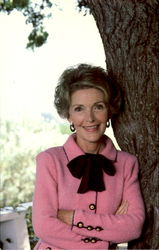 Nancy Reagan At Home