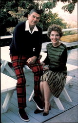 Presidential Candidate Ronald Reagan And Wife Nancy