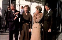 When The Reagans Visited Washington Shortly After The Election