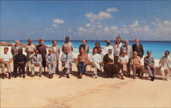 President Reagan Attended The Two Day North-South Summit In The Luxury Resort Of Cancun
