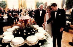 President Reagan's 70Th Birthday Celebration