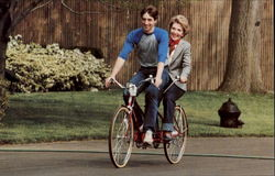 Ron Jr. And Mother Nancy Reagan