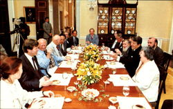 President Reagan Hosts A Group Of Exiled Soviet Dissidents