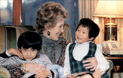First Lady Nancy Reagan Invited Lee Kil Woo