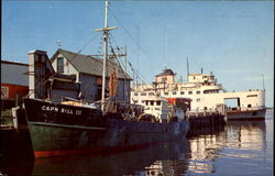 Steamer Nantucket at Woods Hole