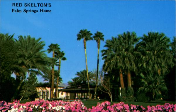 Red Skelton's Palm Springs Home California