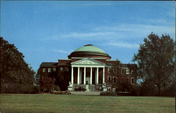 Administration Building, University of Louisville Campus Kentucky
