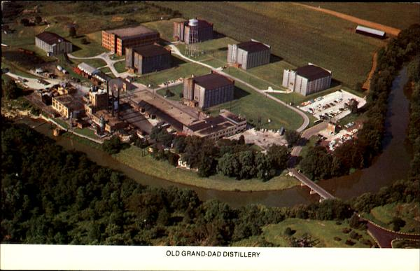 Old Grand Dad Distillery Frankfort Kentucky