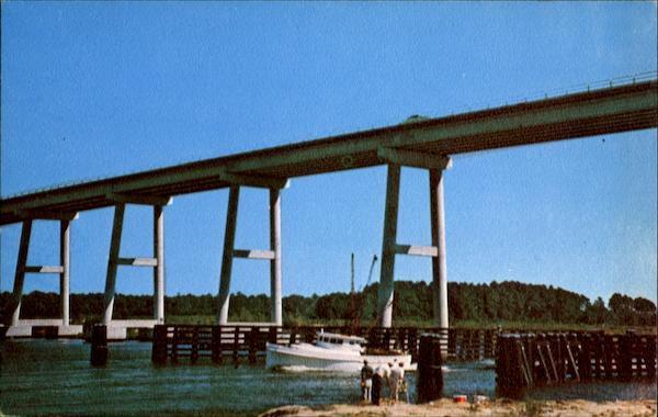 West Onslow Beach Bridge Topsail Island, NC
