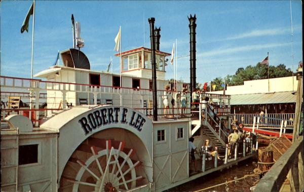 Riverboat Robert E. Lee North Carolina Riverboats