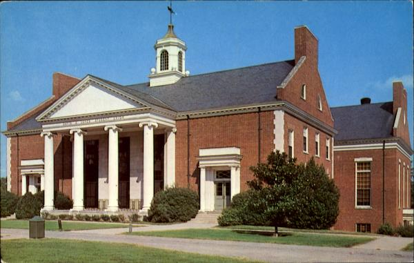 David D. Jones Student Union, Bennett College Greensboro North Carolina