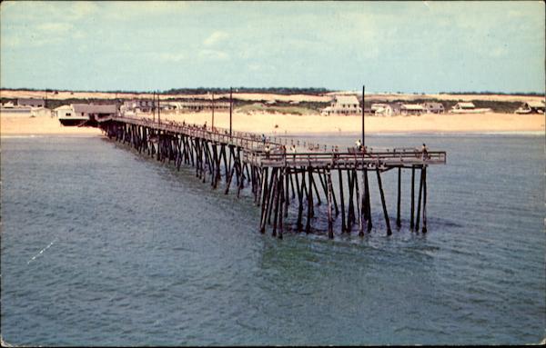 Nags head fishing pier scenic nc for Nags head fishing pier
