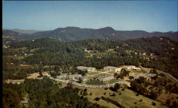 Aerial View Of Asheville-Biltmore College North Carolina