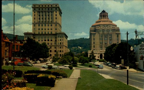 Buncombe Country Court House And Asheville City Hall North Carolina