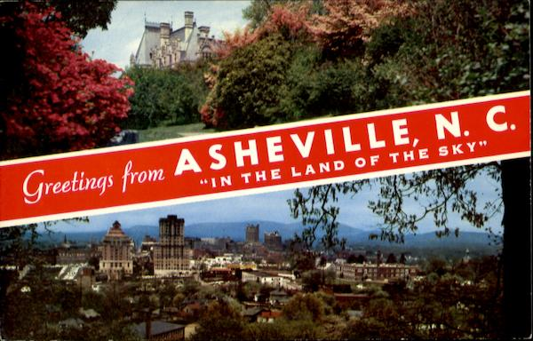 Greetings From Asheville North Carolina
