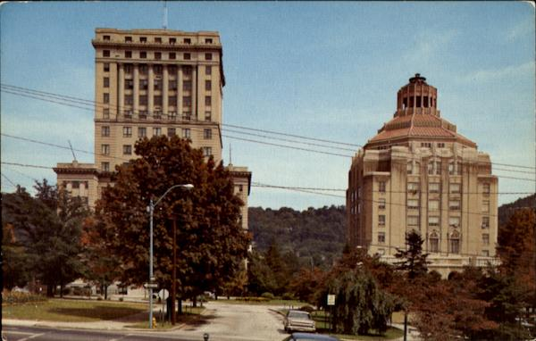 Buncombe County Court House And City Hall Asheville North Carolina