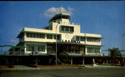 The Administration Building Of The International Airport Postcard