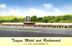 Teague Motel And Restaurant, U. S. 25-W