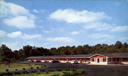 Lincoln Memorial Motel, U. S. 31E & KY. 61 Postcard