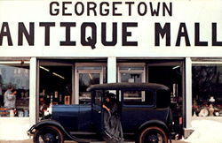 Georgetown Antique Mall, 124 W. Main St. Postcard