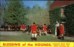 Blessing Of The Hounds Iroquois Hunt Club