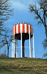 The Nation's Most Patriotic Water Tank