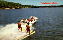 Water Skiing On Kentucky Lake