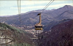 A Panoramic View Of Gatlinburg