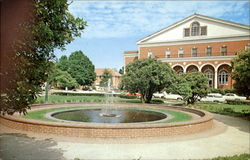 The Fountain In Wright Circle, East Carolina University