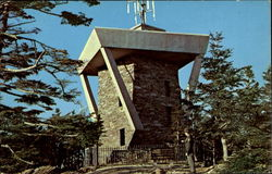 Observation Tower On Top Of Mount Mitchell