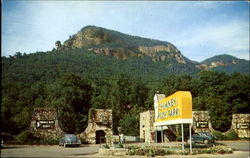 Entrance To Chimney Rock