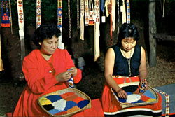 Beautiful Designs Are Originated By Cherokee Women In Their Beadwork